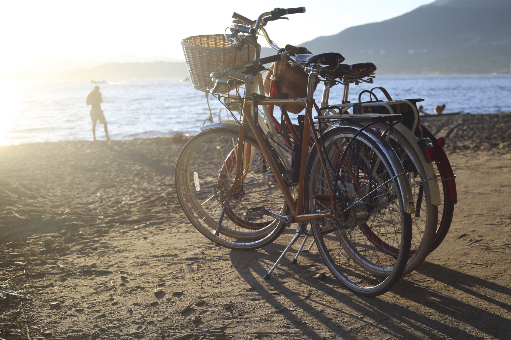 Image of Bikes on the Beach